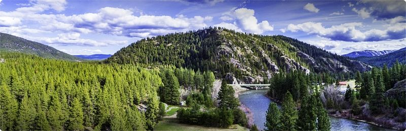 Montana Fly Fishing Trips. The Blackfoot River is situated in Southwest Montana